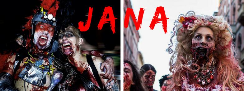 Giocare con la paura: intervista a Jana Daniela Caso