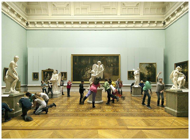 Porta i bambini al museo