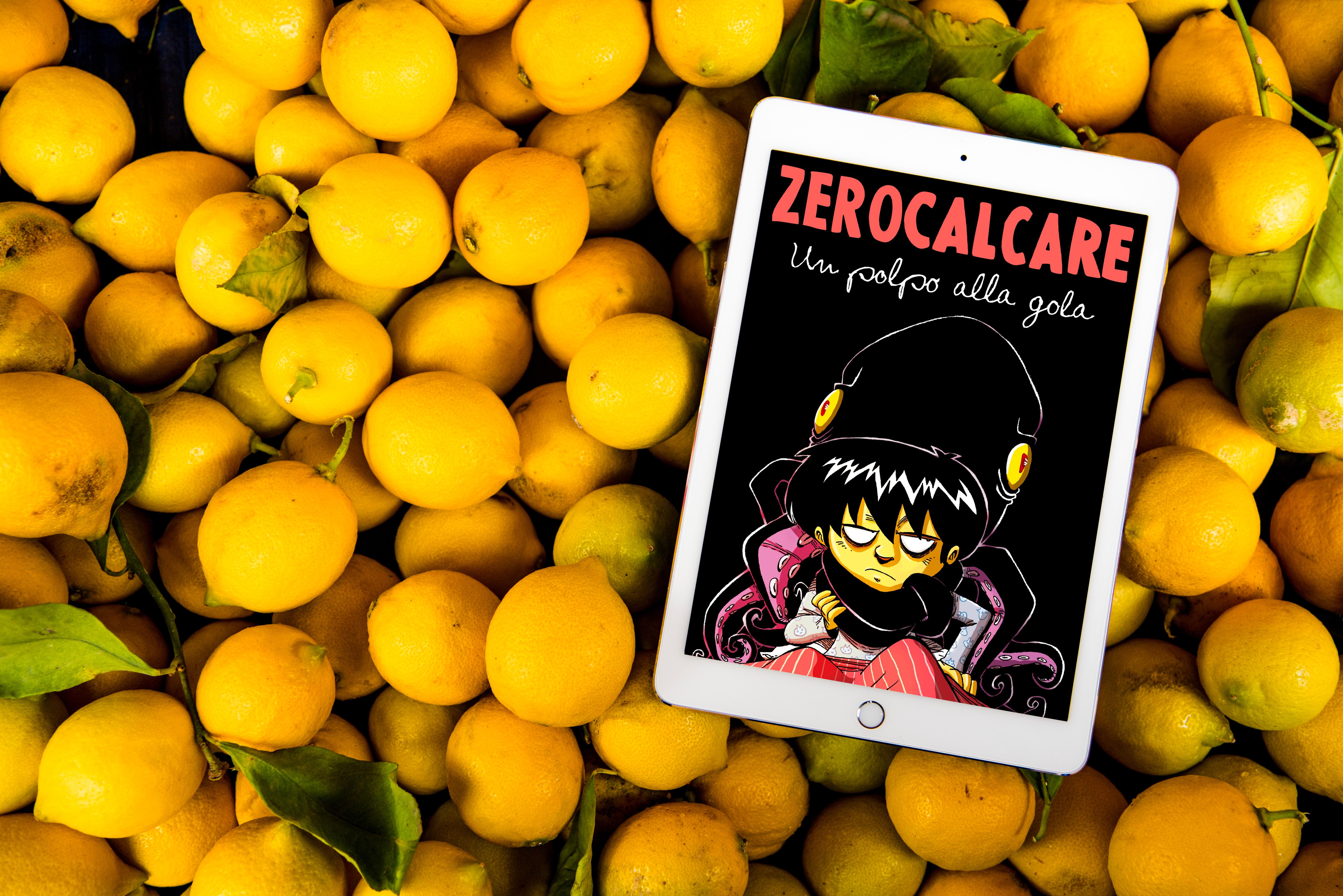 3 fumetti, graphic novel, libri illustrati: un polpo alla gola di ZEROCALCARE