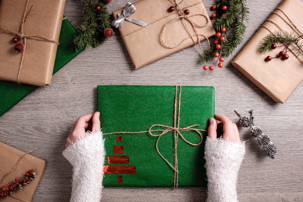 Io odio impacchettare i regali Occhio Al Natale