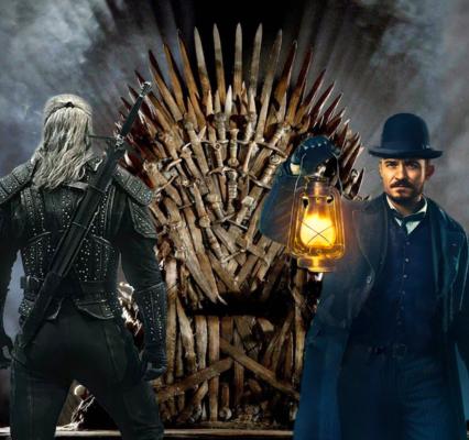 Confronto di 3 serie tv fantasy: GOT, Carnival Row e The Witcher